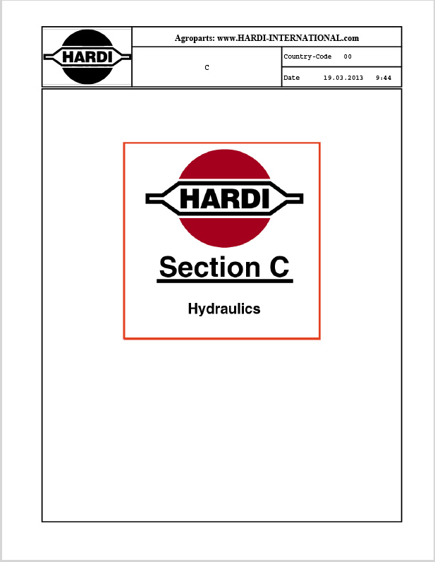 Parts-Catalog-2013-1-Section-C Hydr.